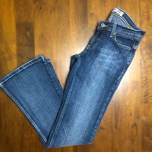 🏝Express Precision Fit Cetine Flared Jeans